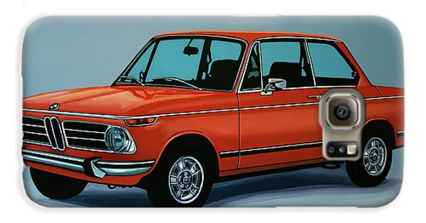 Bmw 2002 1968 Painting Galaxy S6 Case by Paul Meijering