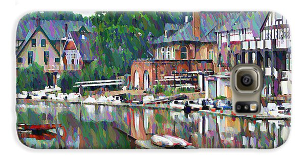 Boathouse Row In Philadelphia Galaxy S6 Case by Bill Cannon