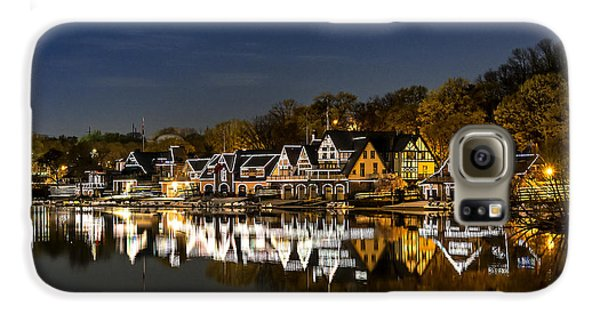 Boathouse Row Galaxy S6 Case