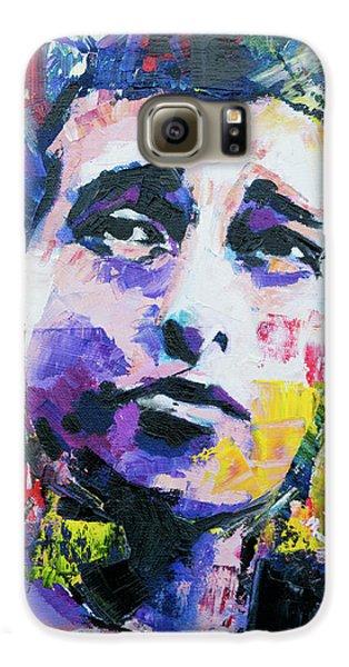 Bob Dylan Portrait Galaxy S6 Case by Richard Day