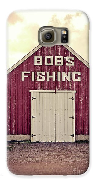 Bob's Fishing North Rustico Galaxy S6 Case by Edward Fielding