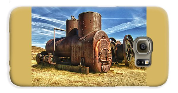 Old Boiler Bodie State Park Galaxy S6 Case