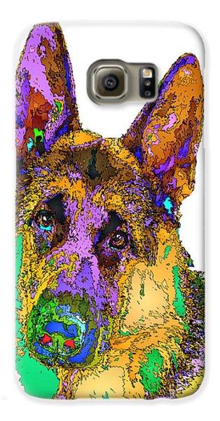 Bogart The Shepherd. Pet Series Galaxy S6 Case