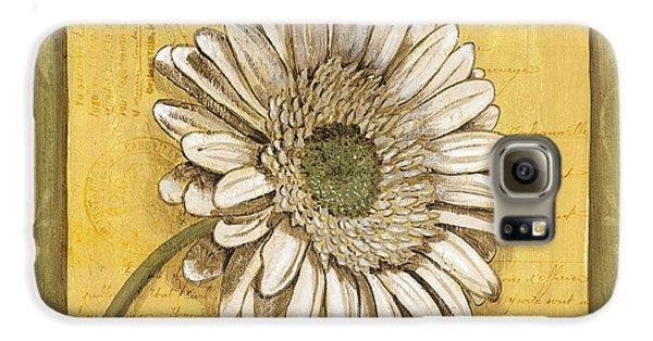 Daisy Galaxy S6 Case - Bohemian Daisy 1 by Debbie DeWitt
