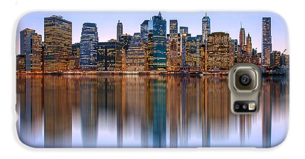 New York City Skyline Galaxy S6 Case - Bold And Beautiful by Az Jackson