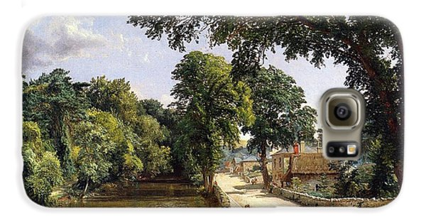 Geese Galaxy S6 Case - Bonchurch Isle Of Wight by Jasper Francis Cropsey