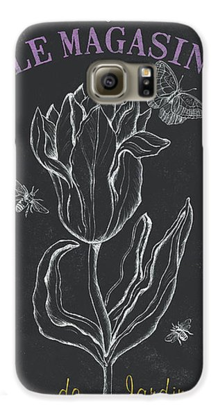 Tulip Galaxy S6 Case - Bortanique 4 by Debbie DeWitt