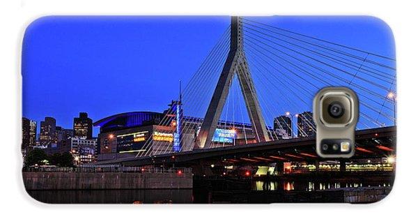 Boston Garden And Zakim Bridge Galaxy S6 Case by Rick Berk