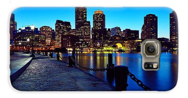 Boston Harbor Walk Galaxy S6 Case