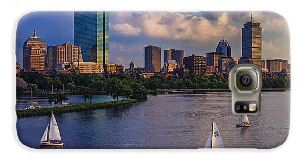 Town Galaxy S6 Case - Boston Skyline by Rick Berk