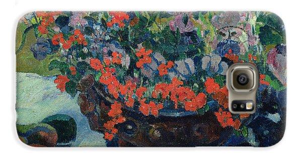 Bouquet Of Flowers Galaxy S6 Case by Paul Gauguin