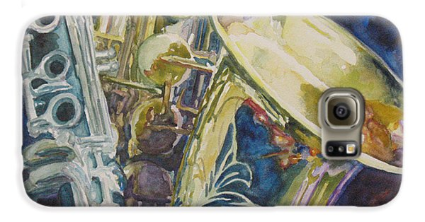 Bouquet Of Reeds Galaxy S6 Case by Jenny Armitage