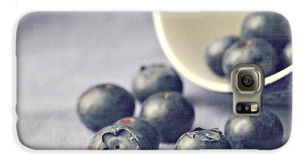 Bowl Of Blueberries Galaxy S6 Case
