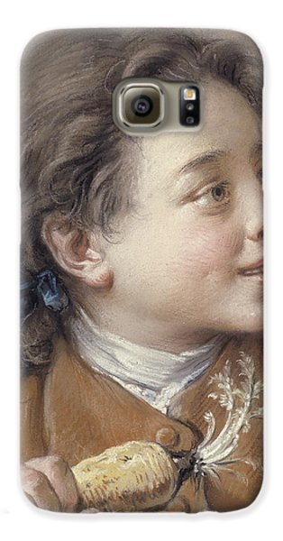 Boy With A Carrot, 1738 Galaxy S6 Case