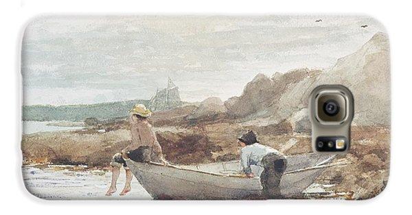 Boys On The Beach Galaxy S6 Case