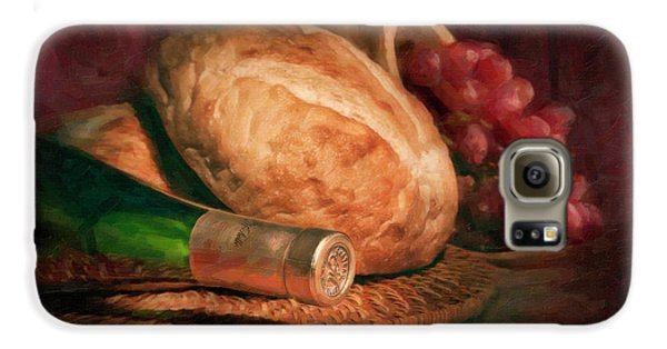 Bread And Wine Galaxy S6 Case by Tom Mc Nemar
