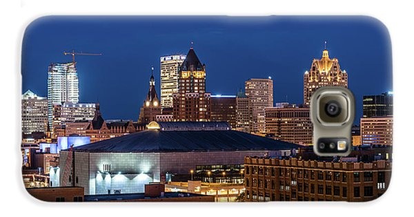 Brew City At Dusk Galaxy S6 Case