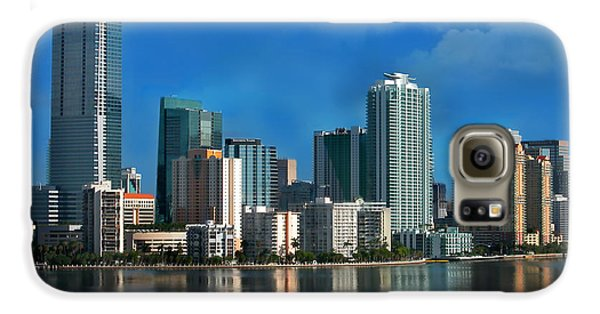 Brickell Skyline 2 Galaxy S6 Case by Bibi Romer
