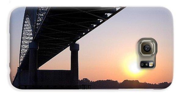 Bridge Over Mississippi River Galaxy S6 Case