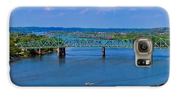 Bridge On The Ohio River Galaxy S6 Case