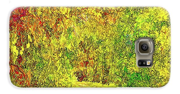 Bright Afternoon Pathway - Trail In Santa Monica Mountains Galaxy S6 Case by Joel Bruce Wallach