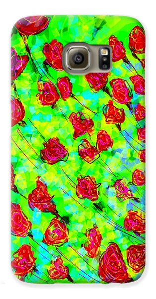 Bright Galaxy S6 Case by Khushboo N