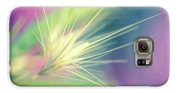 Bright Weed Galaxy S6 Case