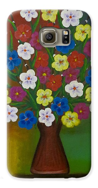 Brilliant Bouquet Galaxy S6 Case by Teresa Wing