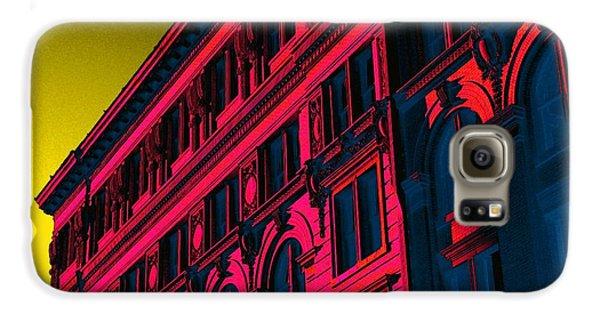 Broadway 118 In Fuschia Galaxy S6 Case by Edgar Farrera