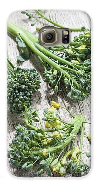 Broccoli Florets Galaxy S6 Case by Elena Elisseeva