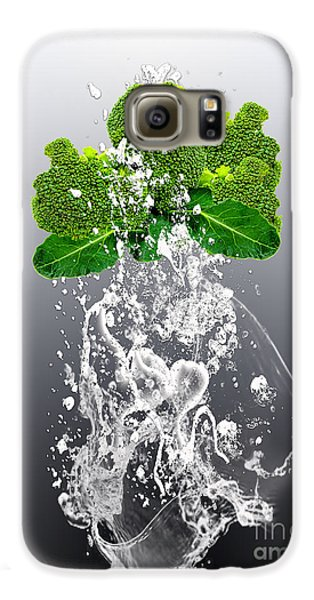 Broccoli Splash Galaxy S6 Case