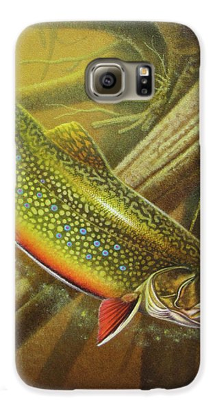 Brook Trout Cover Galaxy S6 Case by JQ Licensing