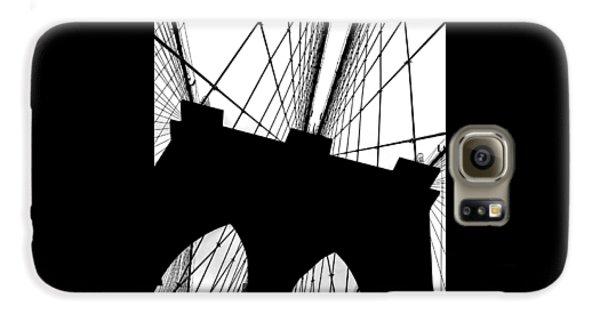 Brooklyn Bridge Galaxy S6 Case - Brooklyn Bridge Architectural View by Az Jackson