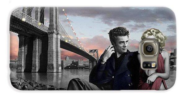 James Dean Galaxy S6 Case - Brooklyn Bridge by Chris Consani