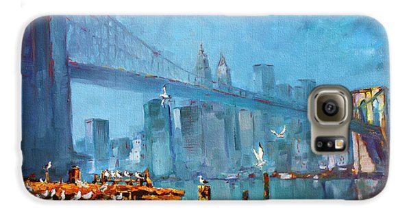 Brooklyn Bridge Galaxy S6 Case by Ylli Haruni