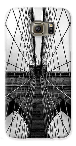 Brooklyn Bridge Galaxy S6 Case - Brooklyn's Web by Az Jackson
