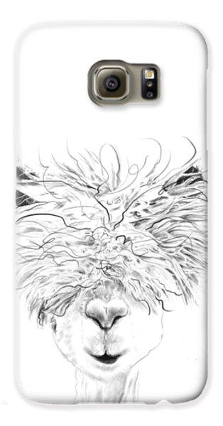 Llama Galaxy S6 Case - Bruce by K Llamas