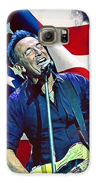Bruce Springsteen Galaxy S6 Case - Bruce Springsteen by Afterdarkness