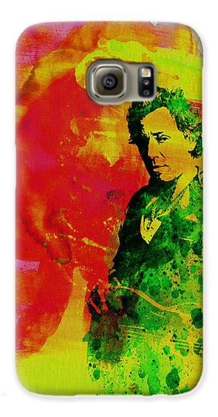 Bruce Springsteen Galaxy S6 Case by Naxart Studio