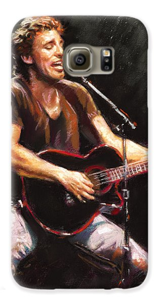 Rock And Roll Galaxy S6 Case - Bruce Springsteen  by Ylli Haruni