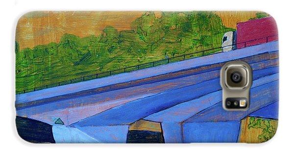 Brunswick River Bridge Galaxy S6 Case