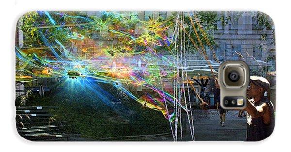 Bubble Maker Collage 1 Galaxy S6 Case
