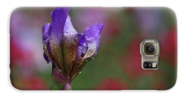 Budding Purple Iris Galaxy S6 Case