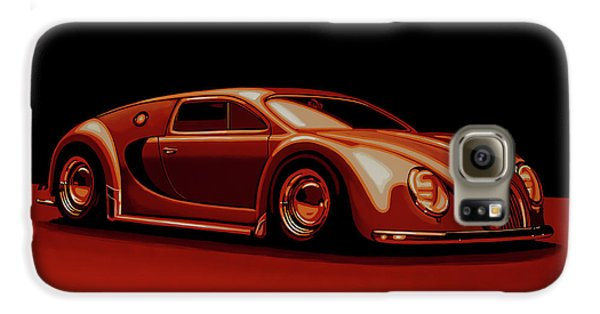 Beetle Galaxy S6 Case - Bugatti Veyron 'beetgatti' 1945 Painting by Paul Meijering