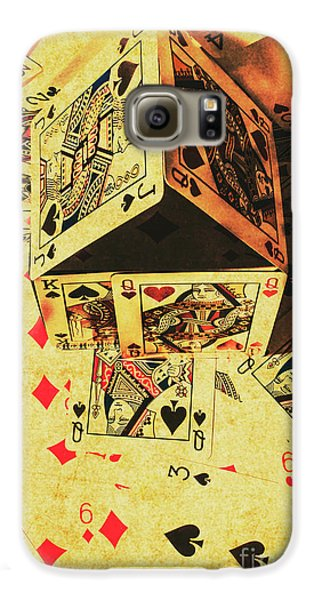 Galaxy S6 Case featuring the photograph Building Bets And Stacking Odds by Jorgo Photography - Wall Art Gallery