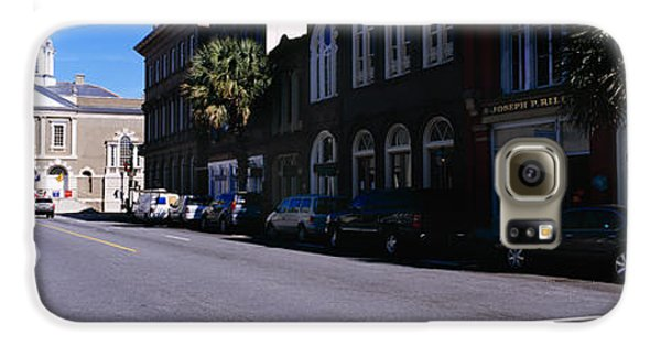 Dungeon Galaxy S6 Case - Buildings On Both Sides Of A Road by Panoramic Images