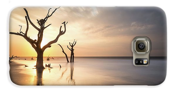 Bull Galaxy S6 Case - Bulls Island Sunrise by Ivo Kerssemakers