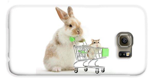 Bunny Shopping Galaxy S6 Case