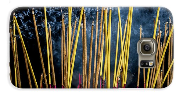Burning Joss Sticks Galaxy S6 Case