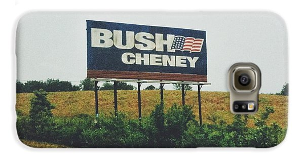 Dick Cheney Galaxy S6 Case - Bush Cheney 2011 by Dylan Murphy
